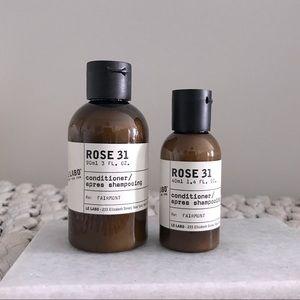 Le Labo Rose 31 Conditioner Duo